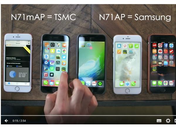 不同A9處理器的iPhone 6s 電池續航差很大?Apple:他們用的測試方法不對