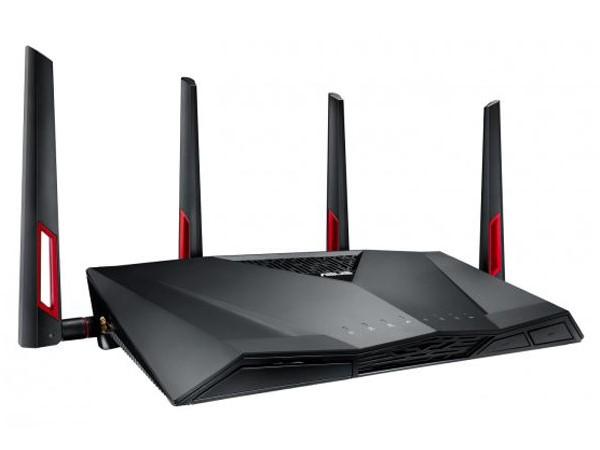 華碩發表 RT-AC88U 雙頻無線路由器,提供 8 組有線網路埠