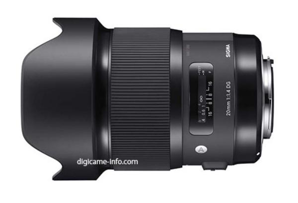 超廣角大光圈,Sigma 20mm f/1.4 DG HSM ART 間諜照流出