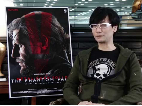 Konami說:小島秀夫並沒有離職,他只是在放長假