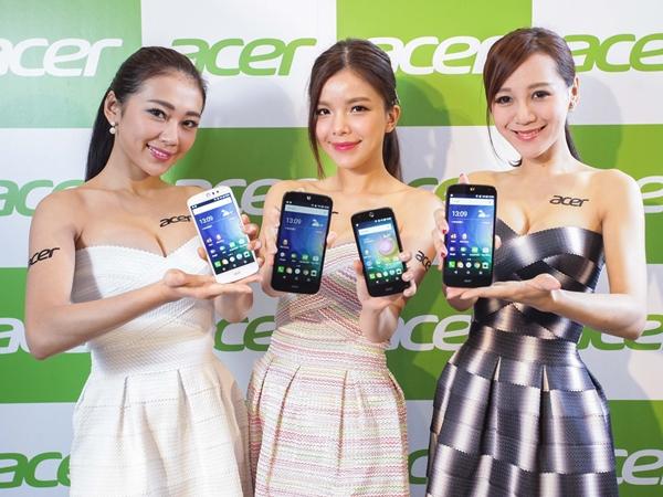 Acer 發表四款入門、中階手機,強調濾藍光護眼功能