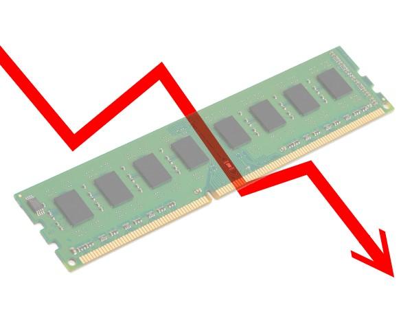 10 月記憶體跌價接近 10%,未來依然看不到上漲空間