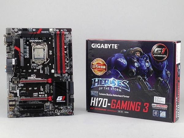 主流玩家的高C/P首選,技嘉科技GA H170-Gaming 3主機板