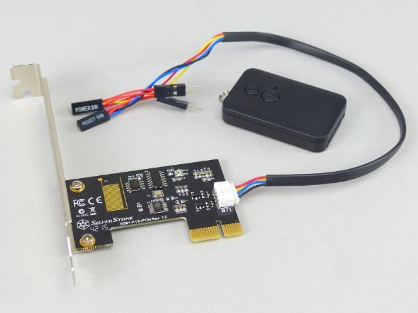 躺在沙發上也能開關電腦,銀欣 SST-ES01-PCIe 無線遙控套件簡單玩