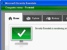 幫微軟免費防毒軟體加上螢幕保護掃毒