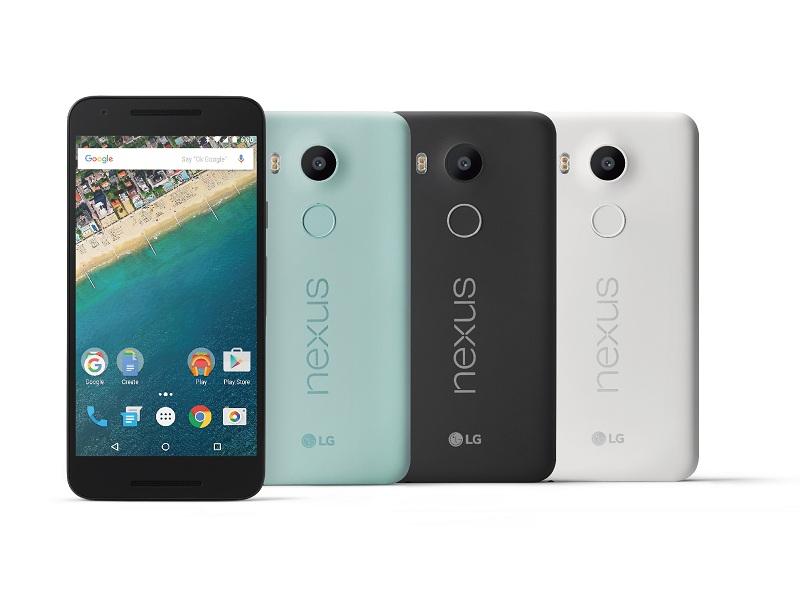 LG 與 Google 聯手推出的 Nexus 5X 上市,售價 13,900 元