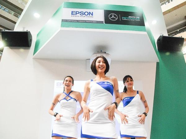 Epson 劇院、商務投影機彩色亮度三倍亮,心率有氧教練,最新行動印表機,資訊月精銳盡出!