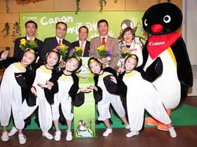 Canon環保共生綠行動  台灣展開墨水匣回收宣導