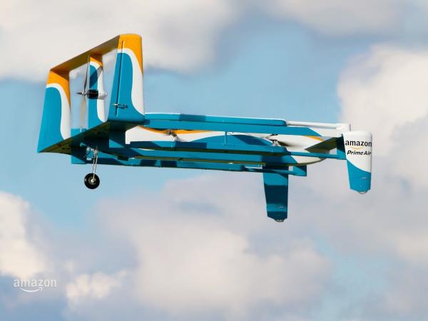 Amazon 無人機配送推出更酷的二代機身,標榜最快 30 分鐘送達