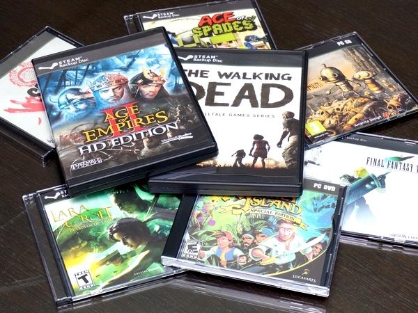 Steam遊戲備份光碟怎麼收,自己印封面,做成實體遊戲塞滿你的書架吧!