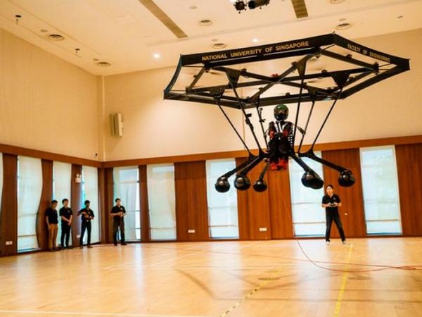 個人飛行載具試飛成功,科幻電影不是夢