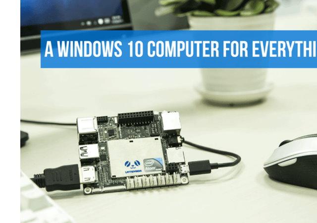 可跑真正的Windows 10系統,LattePanda迷你電腦2,650元帶回家