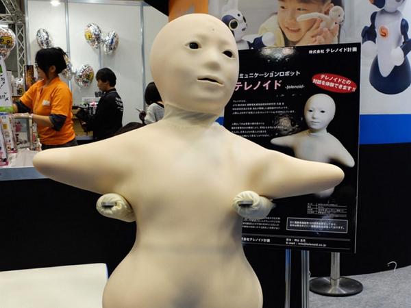 日本國際機器人展上的這些擬真機器人,是漂亮還是驚悚?