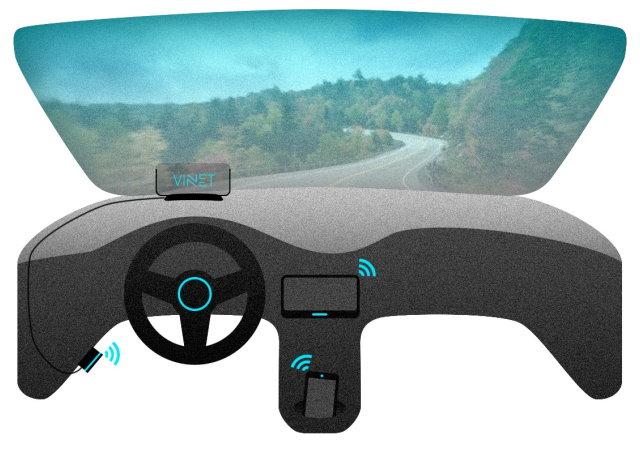 精簡風車用導航Vinet,還會教你駕駛技巧