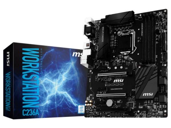 搶占 Xeon E3 消費市場商機,微星推出採用 C236 晶片組主機板