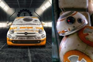 當FIAT 500 玩起 Cosplay,碰上星戰BB-8化身萌系可愛小車