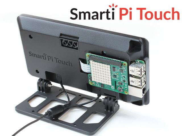 幫Raspberry Pi找個家,靠新款SmartiPi Touch變身AIO