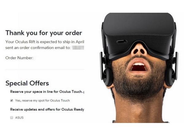 Oculus Rift VR 裝置終於開放預購:售價599美元