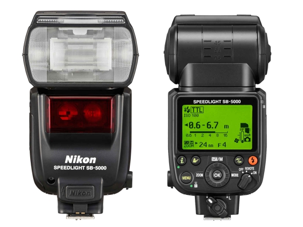 Nikon 推出旗艦閃燈 SB-5000,將支援新機無線遙控