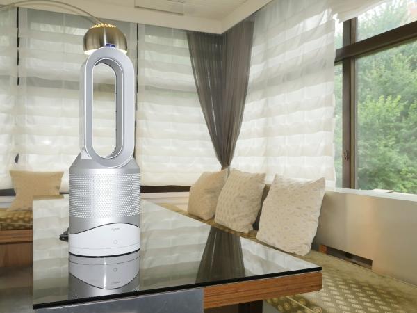 PM2.5 殺手,Dyson 將電扇、空氣濾清器、暖氣機三合一,推出 Pure Hot+Cool 氣流倍增器