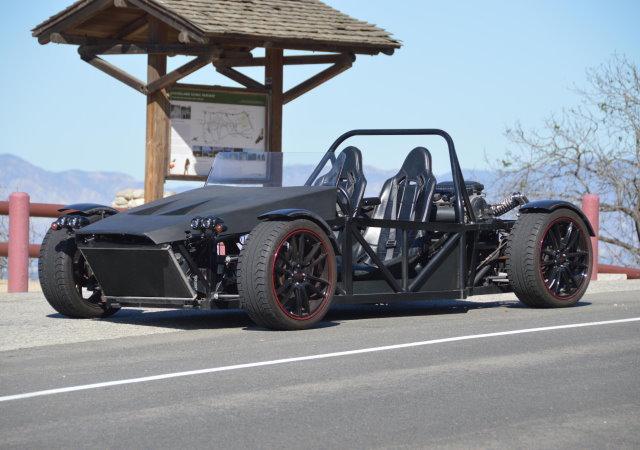 這才叫創客,DIY可上路的手工跑車