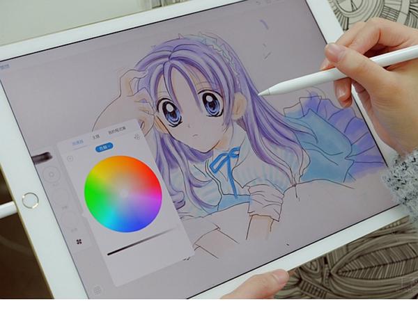美術系專業 iPad Pro + Apple Pencil 動手繪圖實測,真的比紙筆繪圖有感?