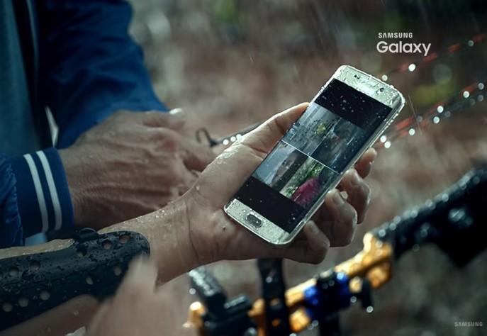提前曝光的Galaxy S7 宣傳片:不但支援無線閃充還防水