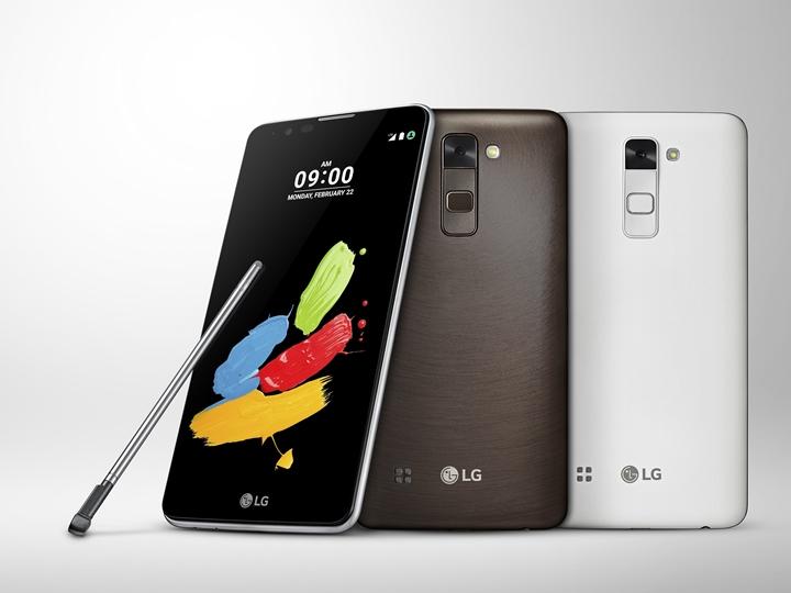 LG 在 MWC 2016 再推具觸控筆新機 Stylus 2
