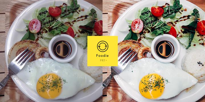 幫你把食物變好吃,LINE 推專拍食物的相機 app「Foodie」