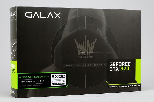 低噪音化超頻顯示卡,Galax GeForce GTX 970 Black EXOC Sniper Edition 實測