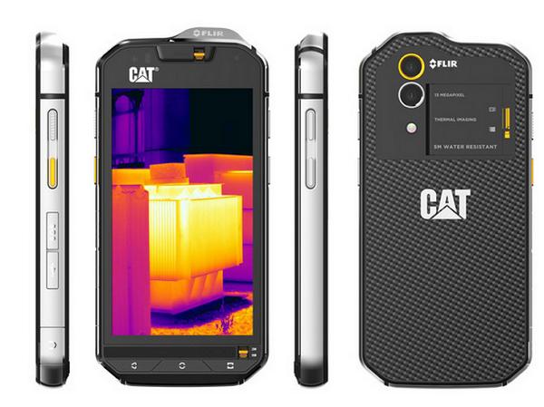 這隻CAT手機,可以讓你拍出紅外線熱成像的自拍照