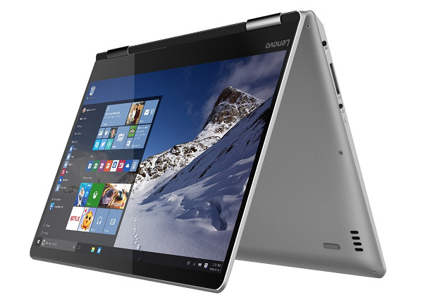 Lenovo 新發表多款 2 in 1 變形筆電,獨立顯示晶片上身
