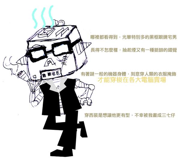T. K. Song 愛塗鴉之自畫像