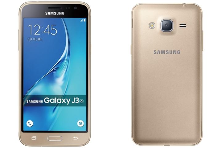 三星推入門新機 Galaxy J3(2016),售價 5,490 元