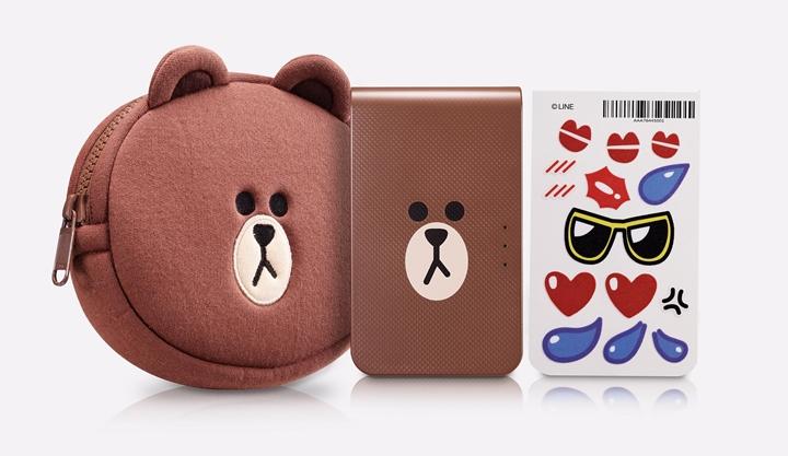 LG Pocket photo 3.0 系列,推 LINE FRIENDS 熊大限定版