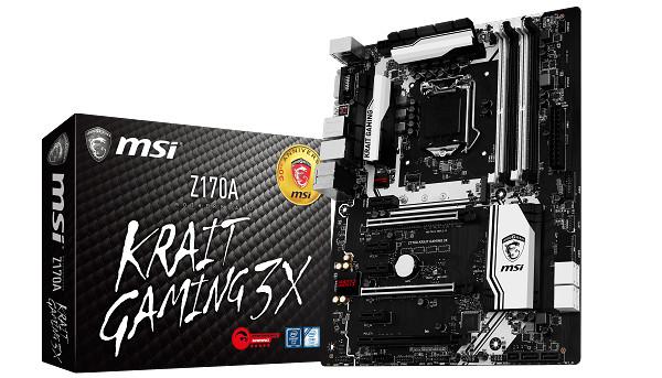 迎接第 30 個年頭,MSI 新推出 Z170A Krait Gaming 3X 主機板