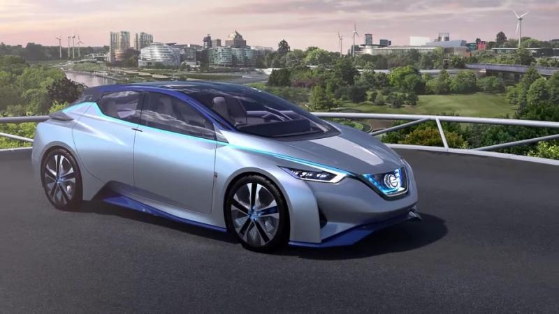 Nissan發表電能車新概念,智慧「無線充電」主導一切