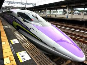 小編親自跑去日本搭了一次福音戰士 EVA 新幹線,內部細節帶你完全看完!
