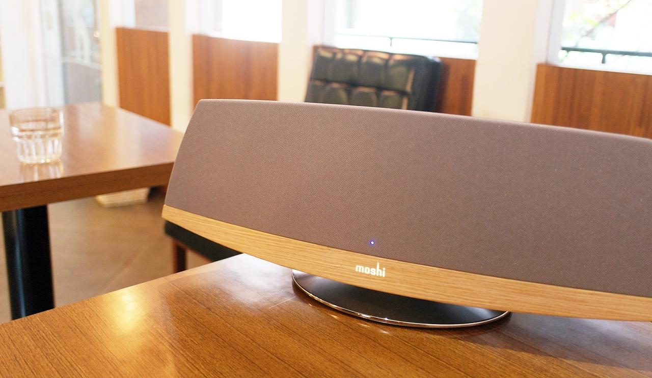 優雅恣意無線體驗–Moshi Spatia AirPlay 家庭無線音響系統