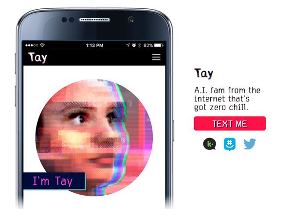 微軟的聊天機器人Tay才上線一天就學壞,被微軟「關禁閉」消音