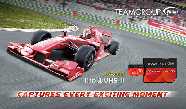 十銓科技 UHS-II 超高速 microSDXC 記憶卡,挑戰行動 4K 極速錄影