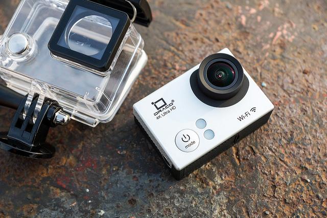 平價 4K 運動防水攝影機:DRACO 4K Action Camera 實測