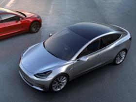 最平價特斯拉現身,Tesla Model 3 約台幣 115 萬即可入手