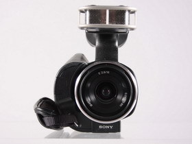 可以換鏡頭的 Sony NEX- VG10 攝影機 實拍試玩