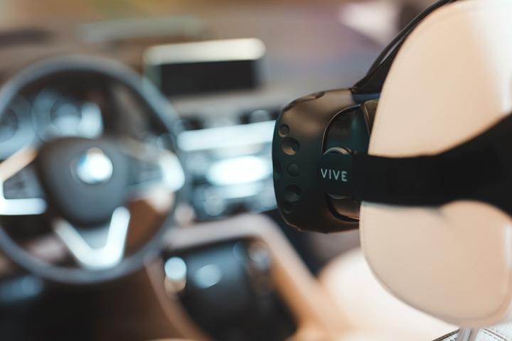 導入 HTC VIVE,BMW 使用虛擬實境開發新車款