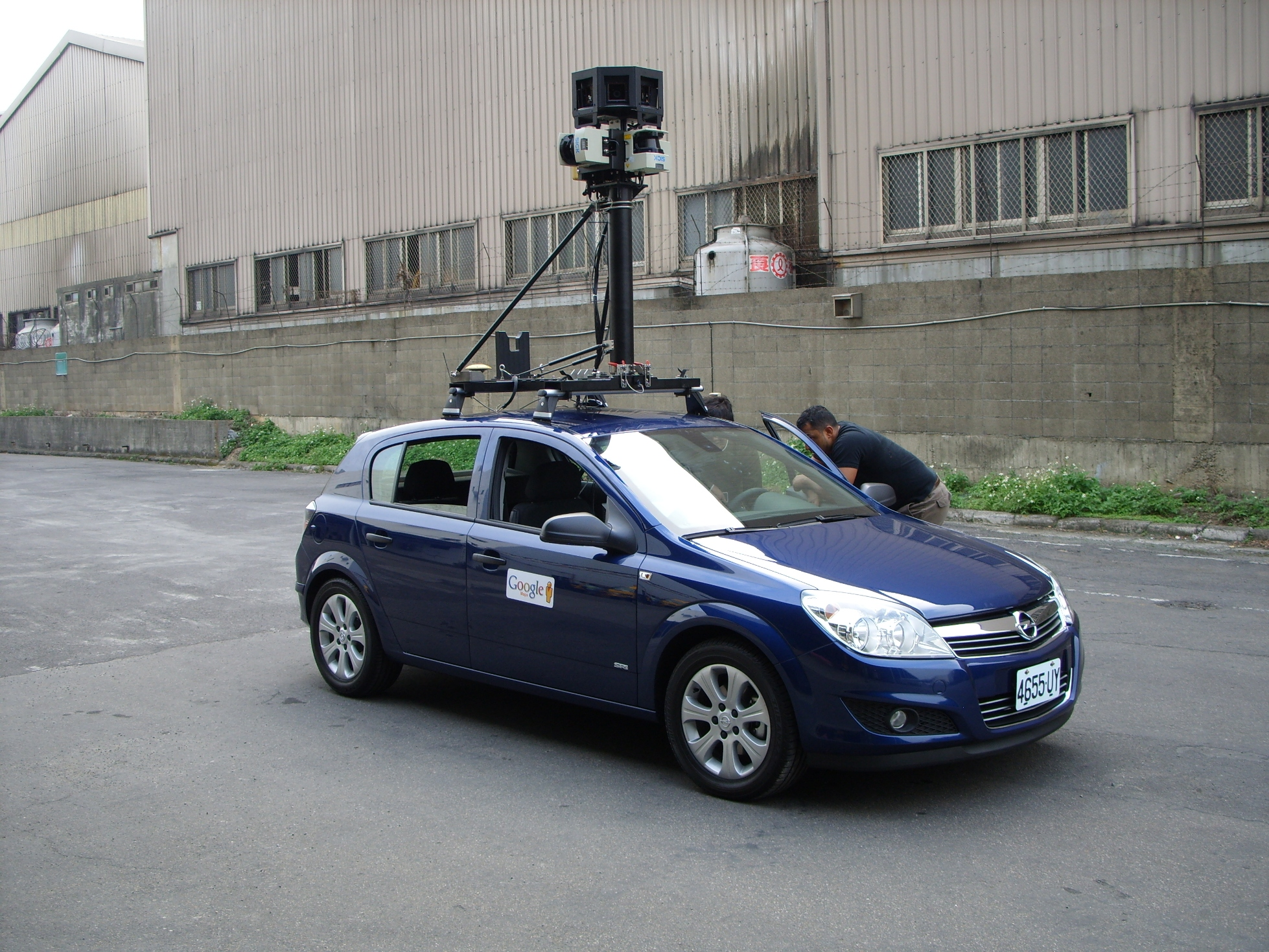 Google 街景車台灣開跑