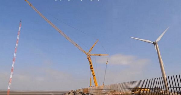 風力發電機怎麼跑測試?標檢局建置全台首座「離岸風力機測試場測風塔」