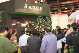 Razer 星海2、創系列產品,資訊月會場玩得到