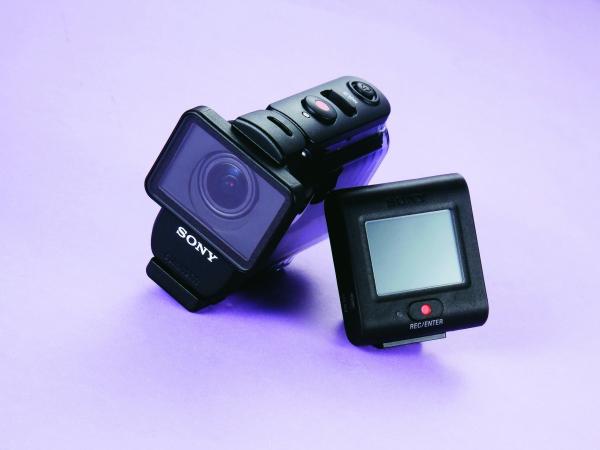 Sony HDR-AS50R-腕戴螢幕隨時掌控