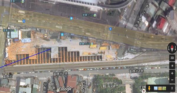 Google地圖有「時差」?網友發現內湖線未完工、松山鐵路地下化仍進行中